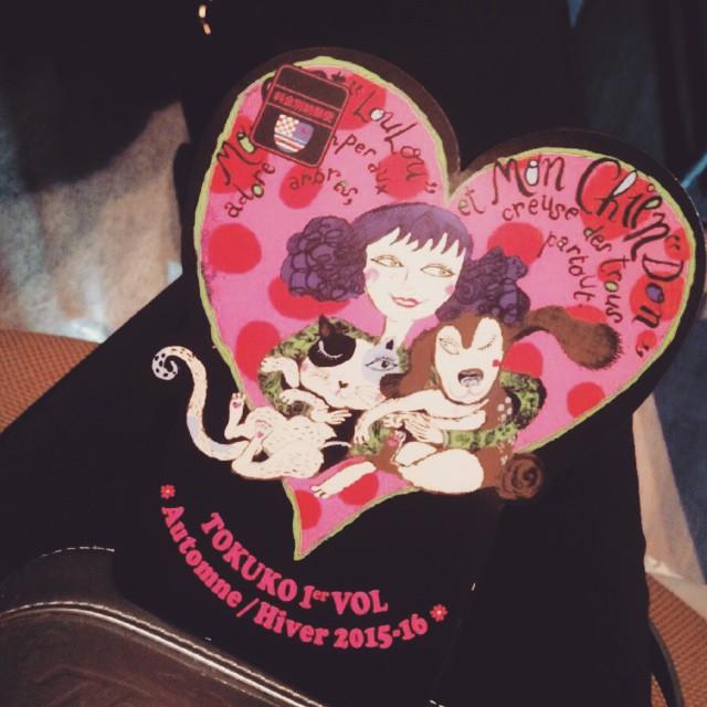 招待状も可愛い♡♡♡#tokuko #fashion #show