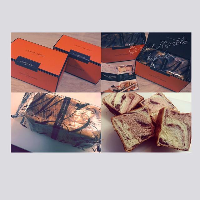 GRAND MARBLEのデニッシュGet---♡♡♡#GRANDMARBLE #デニッシュ #京都 #bread