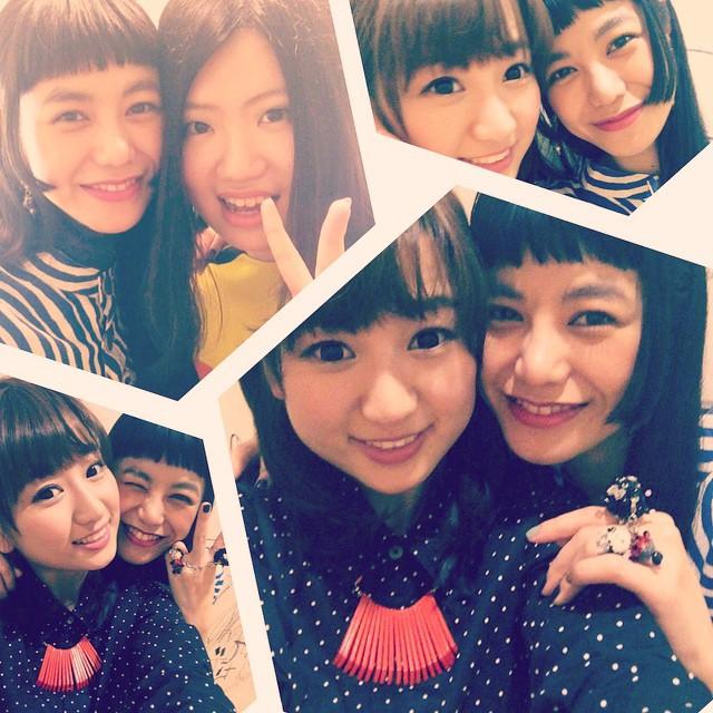 ゲストボーカルのgirlsチーム!シェリーちゃんは今回のために中国から来日〜!#sugarscampaign #live #代官山UNIT