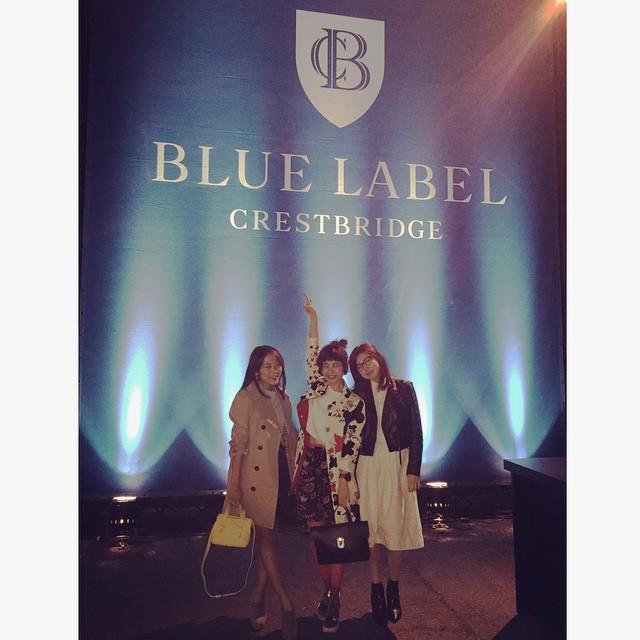 本当に可愛いショーでした!!!あんまり写真が撮れなかったから、写真でスタイリング早く見たい!要Checkだなあ♡  #バーバリーブルーレーベル#ブルーレーベル#バーバリー#bluelabel #burberrybluelabel #トレンチ#チェック #miharayasuhiro  #ブルーレーベルクレストブリッジ#クレストブリッジ