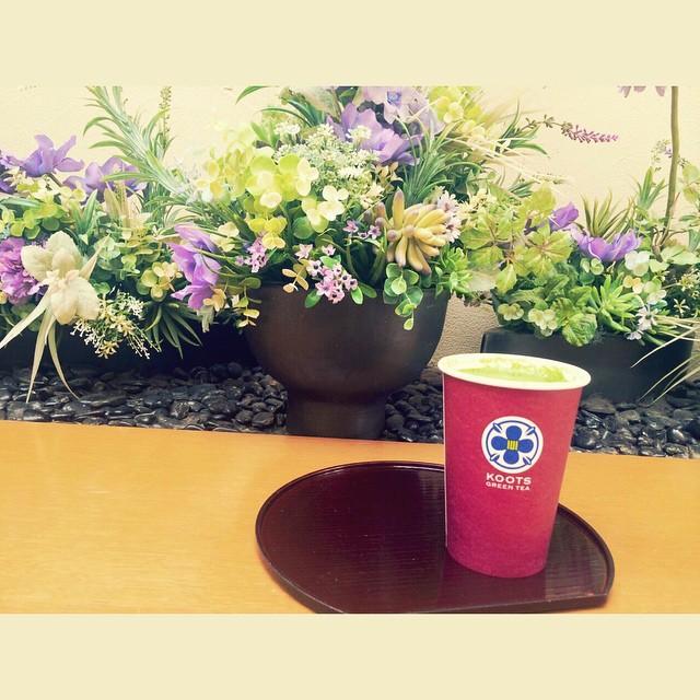 抹茶が飲みたいKOOTSがもっと増えてくれたらいいなぁ...#抹茶 #KOOTS #cafe