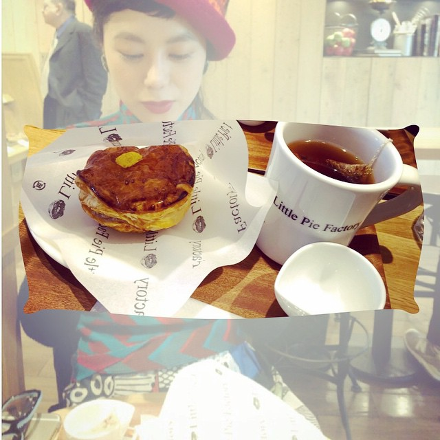 広尾にあるLittle pie factory♡♡♡#tea #time #Littlepiefactory #applepie