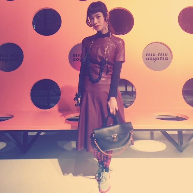 party style.綺麗な人だらけでした#party #fashion #miumiu #miumiuaoyama #show #zara #nike #sneakers #marni