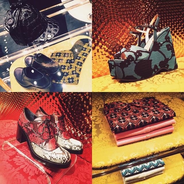 miumiu♡♡♡#fashion #miumiu #miumiuaoyama #shoes #2015fw