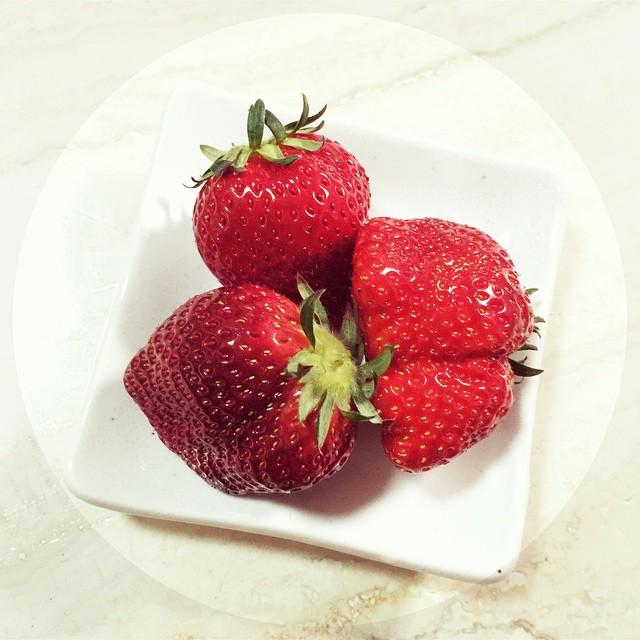 久しぶりの苺♡♡♡#いちご #strawberry
