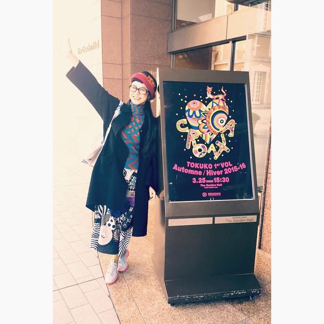 可愛かったあ♡♡♡#fashion #show #tokuko