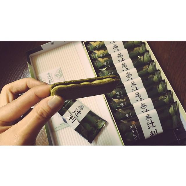 blogを更新しました!http://ellegirl.jp/blogs/izumi/2015/03/live-2日目-京都ぶらり♡/ #blog #ellegirl #京都 #live #抹茶 #お土産 #辻利
