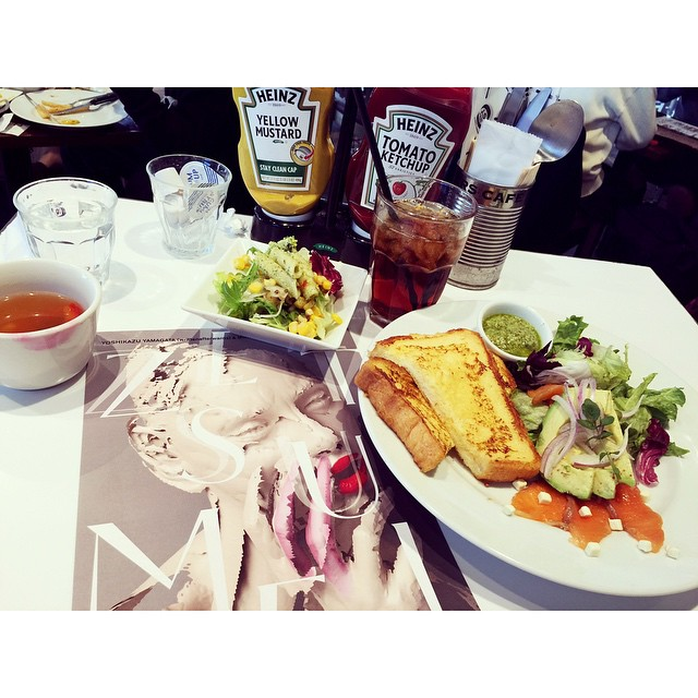絶・絶命展もやってるし,渋谷PARCOへJ.S.BURGERS CAFEでフレンチトーストランチ♡♡♡#渋谷PARCO #lunch #cafe #parco_ss