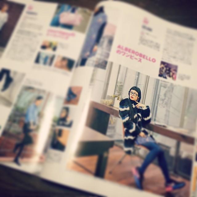 4/1発売の雑誌ROLaにて,1ページ私服で載せていただいたよ♡是非観てね#fashion #rola #izumi #coordinate #magazine #moussy #nike #zoff #alberobello #私服