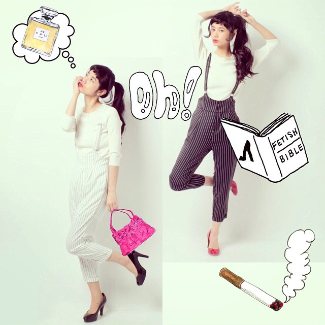 Cecil McBee.#fashion #coordinate #spring #shoes #cecilmcbee #pants #model #hair