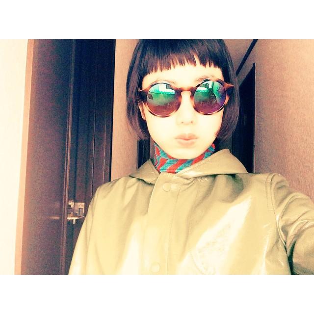 前から見たらボブ風になるサイドの髪がお気に入りやっぱり前髪もこれが落ち着くなぁ#hair #fashion #zara #ootd #outfit #izumi