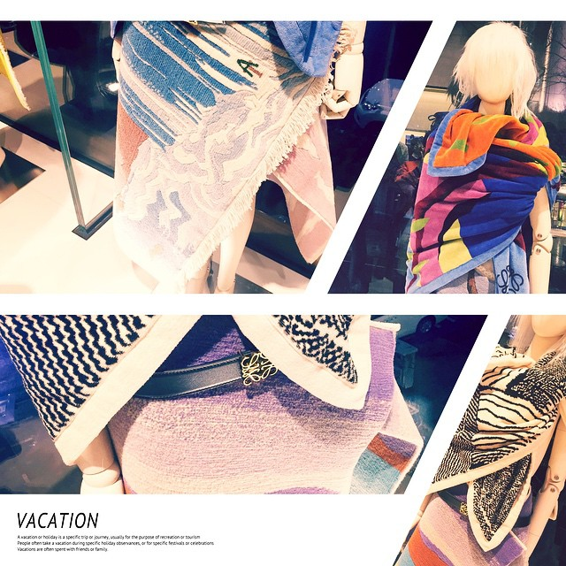 テキスタイルが素敵すぎる!!!めちゃ好みだーーー♡♡♡#loewe #loewe_elle #party #fashion #wear