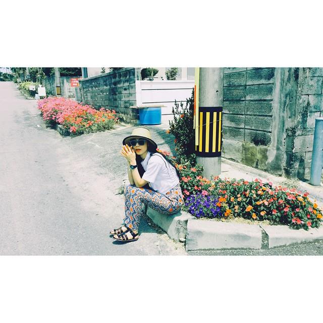 Good morning.♡#ellegirl_clubmed #ellegirlcurator #クラブメッド#coppertone#rayban#ishigaki #okinawa#holiday#clubmed#trip#石垣島#沖縄#japan #ellelovesokinawa #island #tropical @ellejapan @ellegirl_jp