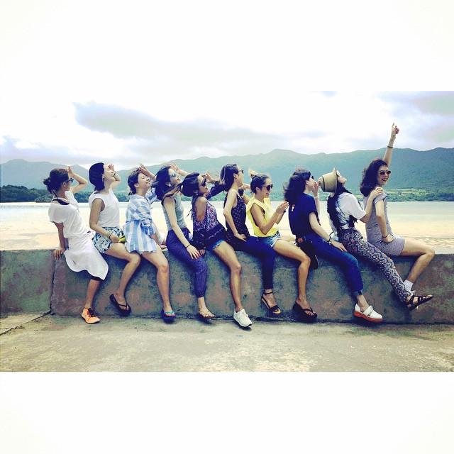 10人のELLEgirl curatorが集まるなんてなかなかないから、本当に楽しい素敵な思い出。♡ #ellegirl_clubmed #ellegirlcurator #クラブメッド#coppertone#ishigaki #okinawa#holiday#clubmed#trip#石垣島#沖縄#japan #ellelovesokinawa #island #tropical @ellejapan @ellegirl_jp