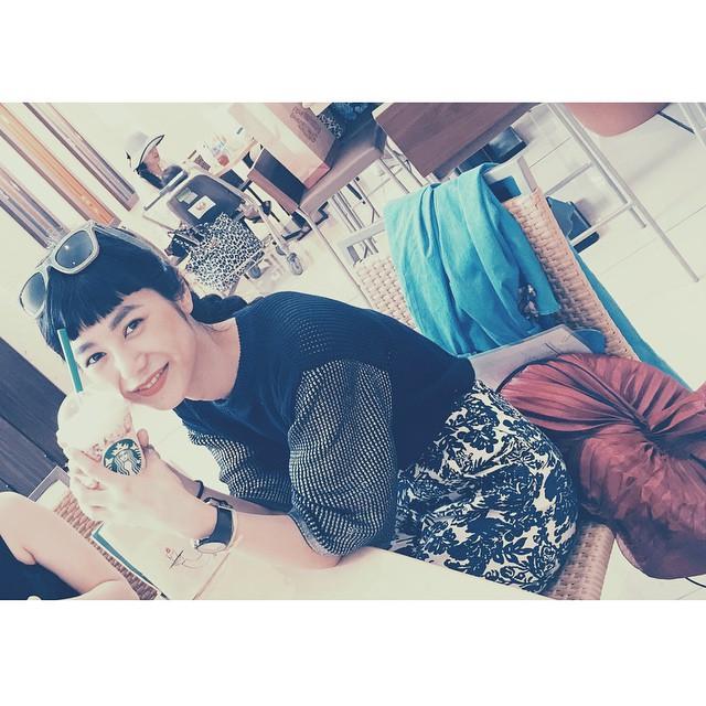沖縄の空港にてやっぱりstarbucks♡ただいま東京️️️ #ellegirl_clubmed #ellegirlcurator #okinawa #starbucks@ellejapan @ellegirl_jp