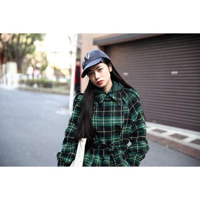 @fashionsnapcom Thank you...♡#izumi #IZUMIsfashion #fashion #snap #stylenanda #cap #ny #coordinate
