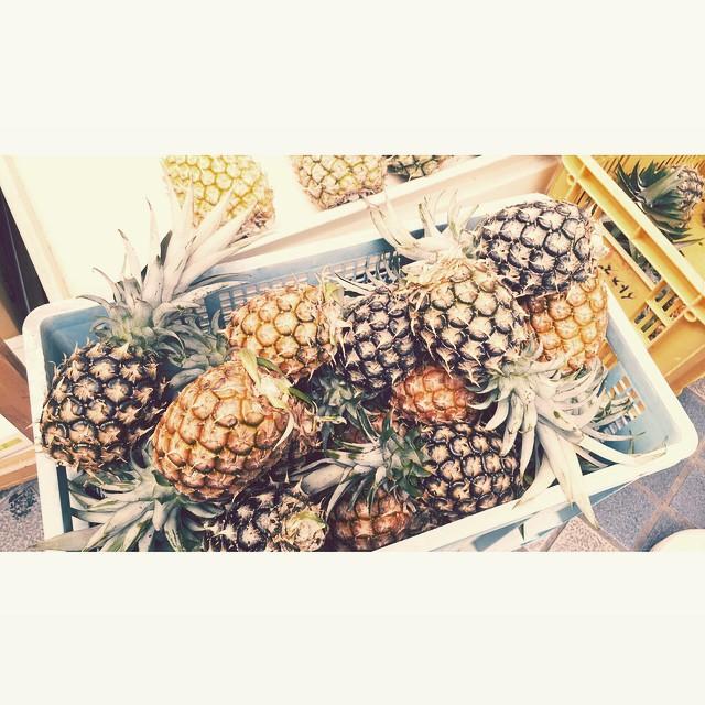 ♡#パイナップル #summer #fruits