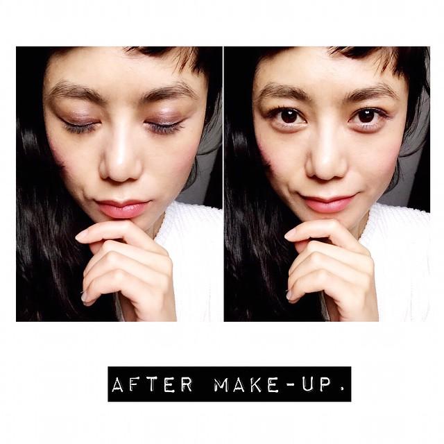 昨日のメイクを真似ようと試みたが,やっぱり違うんだよなぁでも,メイクってやっぱり楽しいわ♡♡♡今日は19時から原宿TVです️ #makeup #make #dior @dior #メイクアップアーティスト #徳永靖弘