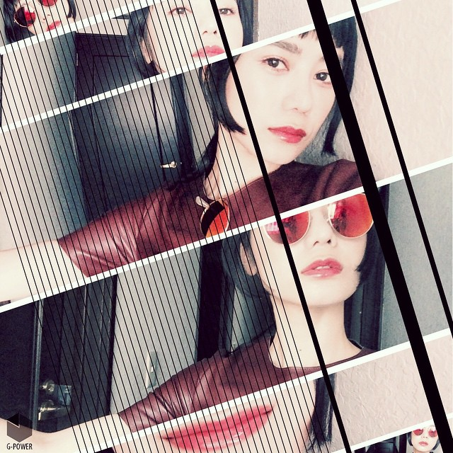 Red × Red × Red × Red #IZUMIsfashion #fashion #zara #moussy #lip #red #izumi #hair #makeup