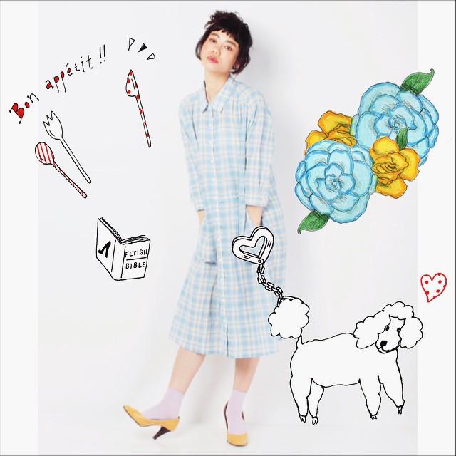 おはよーう️♡#gm #happy #photo #izumi#fashion #coordinate