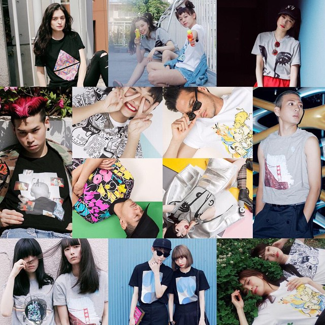 それぞれ個性豊か〜♡♡♡#gapremixproject #gap #tshirts #fashion #model
