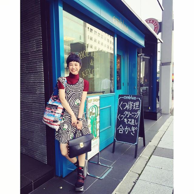 靴の修理承りま〜す♡なんて️ #IZUMIsfashion #coordinate #outfit #ootd#fashion #marni #alberobello #oc#openingceremony