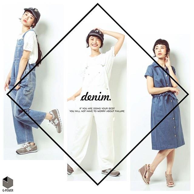 white or blue ??#denim #white #blue #fashion#coordinate #work #photo#newbalance #sneaker