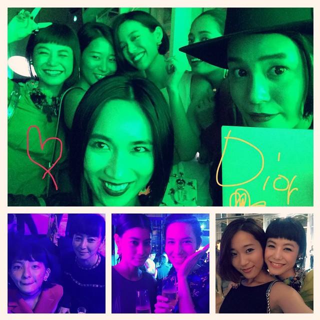 可愛いgirlsがたくさんでした#elle #ellegirl @dior #dior #diortokyo #diorellejp #fashion #afterparty