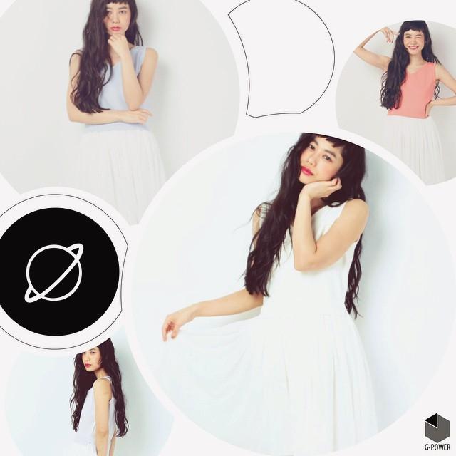 普段着ない感じの私#Mercuryduo #girl #fashion #izumi #long #hair