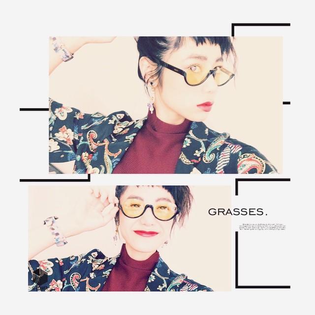 め・め・めがね〜#IZUMIsfashion #grasses #fashion#topshop #isseymiyake #fendi#lip #nixon #izumi #wear