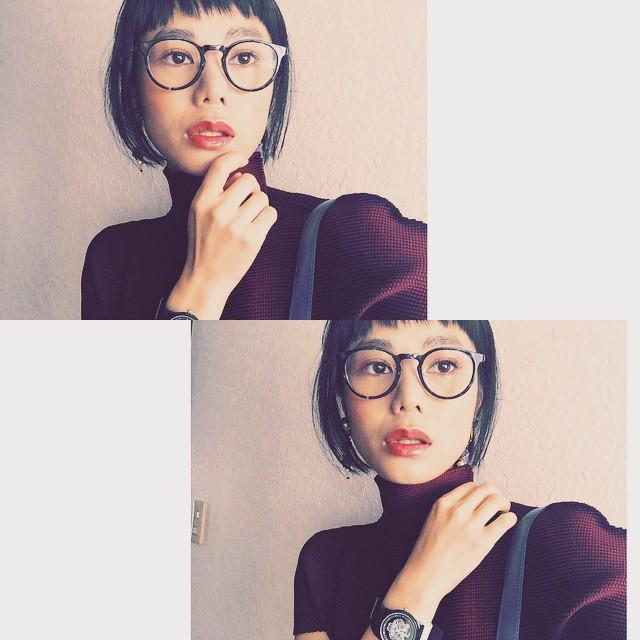 最近はIssey miyake のTopsばかり♡本当に着やすくてお気に入り️ #Isseymiyake #Tops #fashion#ootd #IZUMIsfashion #zoff #めがね#makeup #lip #hair