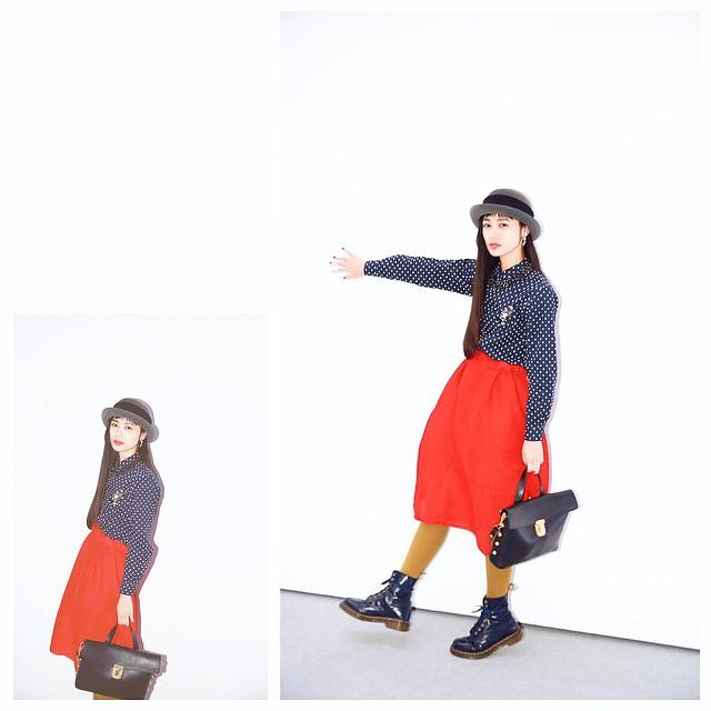 半年前のDior showの時の写真を発見️️ @Dior #Dior #fashion #show #snap #IZUMIsfashion #Isseymiyake#marni #alberobello #drmarten #coordinate #wear