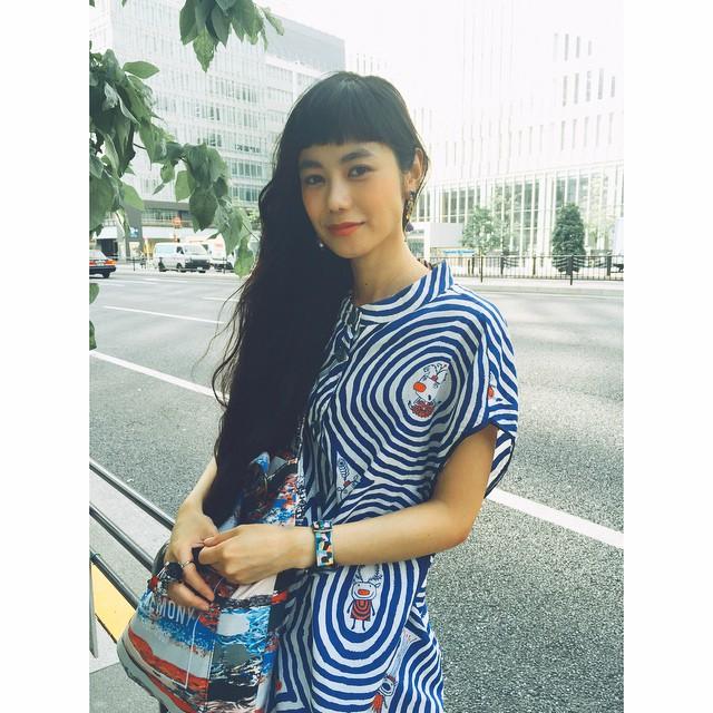 今日は暑かったね〜!#ootd #outfit #alberobello #fashion #openingceremony #oc #izumi #hair