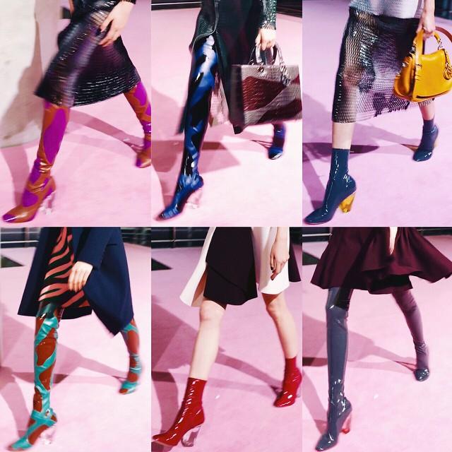 movieをスクショしながら編集したよ!お気に入りのブーツ画像♡♡ellegirl onlineから是非blog観てね〜@dior #dior #diortokyo #diorellejp #diorelle360 #ellegirl #blog #izumi#fashion #fw #shoes