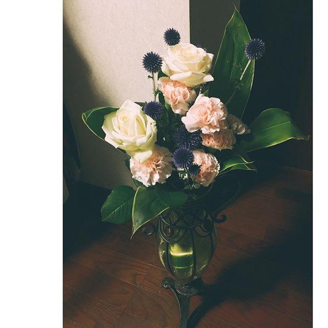 お母さんをイメージしてHappy Birthday mom.:) #happybirthday #mother #flower