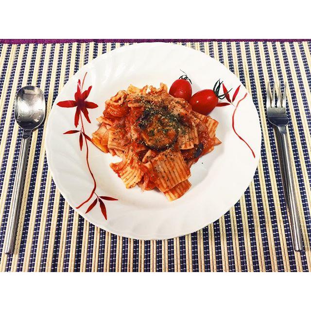 調味料足りなくて失敗#homecooking #pasta #tomato