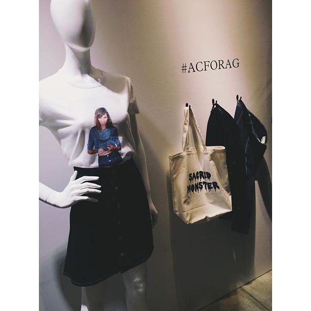 《アレクサ・チャン フォー エージー》第二弾コレクション。♡#ACFORAG #fashion #アレクサチャン
