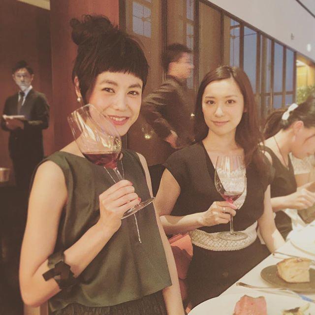 ちょっとだけ、ワインが飲めるようになれた #Dinner #bulgaribridal #BVLGARI#party #Wedding #dress