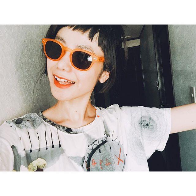 今日もいい天気だったね〜暑かった〜︎︎︎ #summer #happy #fashion #Coordinate#IZUMIsfashion #alberobello #tshirts#ootd #sungrasses #movie #day