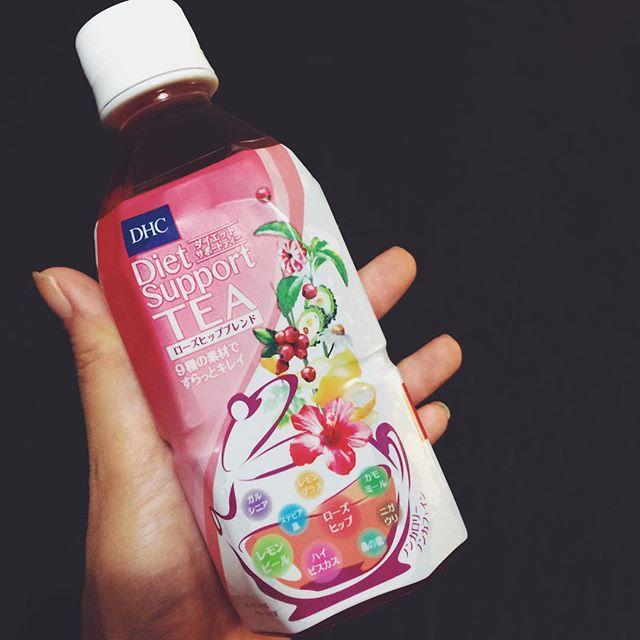 Good morning.︎♡甘くなくてすっきり😙️今日も1日Happy dayにしましょ️ #gm #drink #tea #dhc #diet