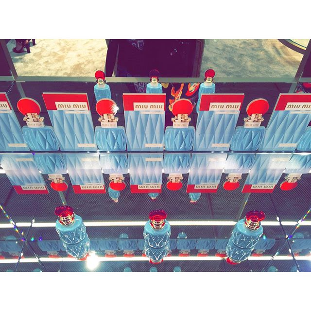 MIUMIU 新フレグランス発表会♡♡♡@miumiu 銀座店#MIUMIUPARFUM #miumiu #ginza#Fragrance #new