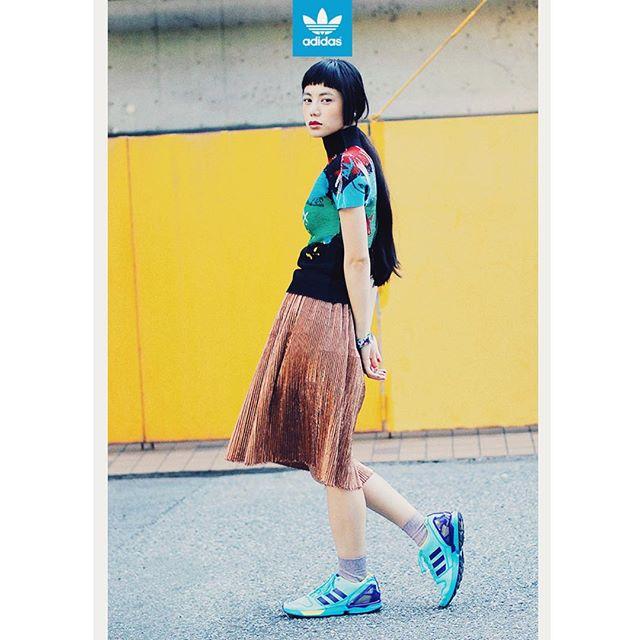 @adidasoriginals #adidasOriginals #ZXFLUX #adidas #sneaker #fashion #snap@drop_tokyo #wear ZXhttp://adidas.jp/lookbook/originals/sp/2015fw/ZX-family/lookbook/#single-look-28