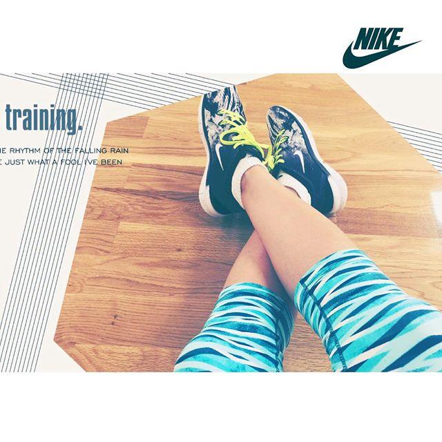 nike training app UPしたよ( ´ ▽ ` )ノ♡ウエアもナイキでモチベーションUP〜#NTCTOKYO #JUSTDOIT #nike#training #sports