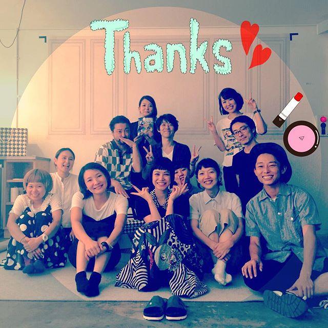 撮影終わった----(≧∇≦)チームワークの良さで、長丁場もとっっっても楽しくて、本当に最高の現場でした!!!あー撮影終わっちゃって寂しいな。。 10/1からのLUMINEを楽しみにしててね #shooting #LUMINE #team #Thankyou #love #fashion #fw