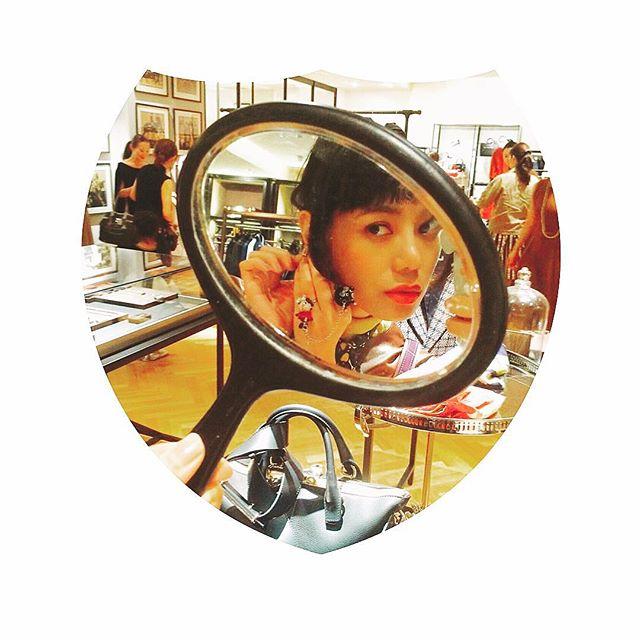 vintageのearring可愛すぎた@ellegirl_jp #martinique #fashion #vintage #earring #new #shop