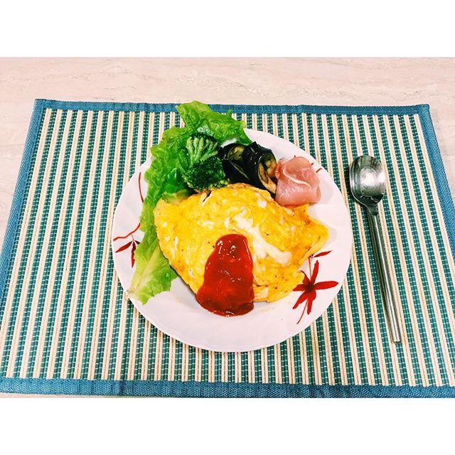 オムライス #homecooking#egg#オムライス#家ご飯