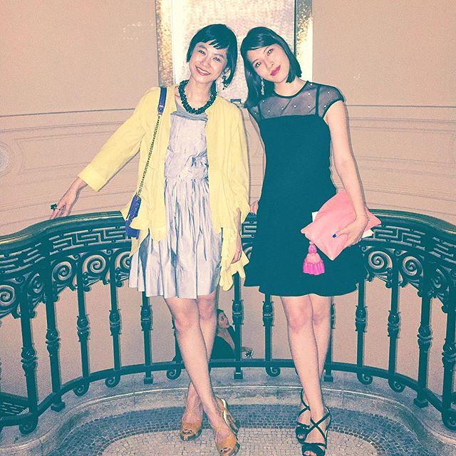 昨夜のBVLGARI Partyは、@ellegirl_jp curator @naokoasano ちゃんと一緒だったよ長年の歴史からジュエリーを知れて、とっても勉強になったし、こんな貴重な素敵なジュエリーが見れる機会もなかなかないから、みんなも是非行ってみてね!♡今日9/8〜11/29まで、東京国立博物館で回顧展が開催だよ#BVLGARI#bulgari130 #ellegirl #party #fashion#girls