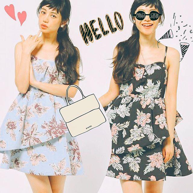 暑さももう終わり!ワンピはタートルを入れて秋へシフトだね♡#snidel#ワンピース#girl#flower#fashion