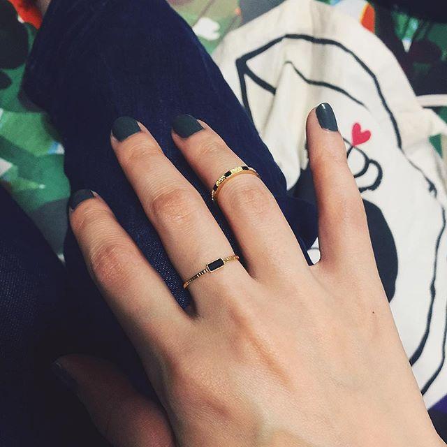 手元 #ring#wear#mother#nail#fashion