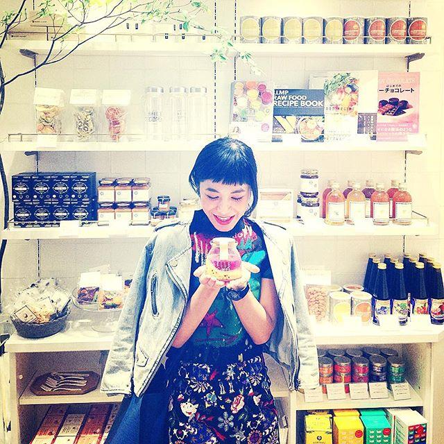 どんな味かなぁ♡♡♡わくわく...(o^^o)#ELLEcafe#六本木ヒルズ店 #COYO#helthy#ヨーグルト
